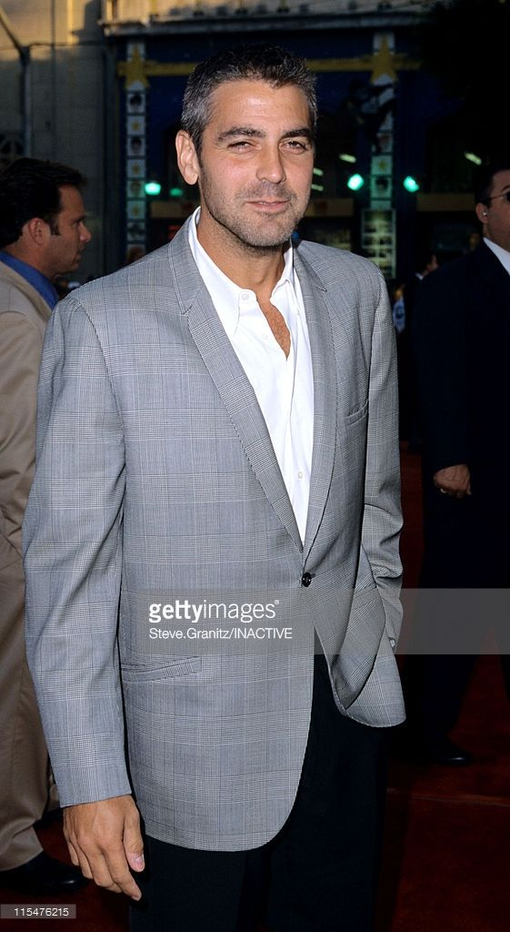 George Clooney during ''Lethal Weapon 4'' Los Angeles Premiere at Mann Chinese Theatre in Hollywood, California, United States.