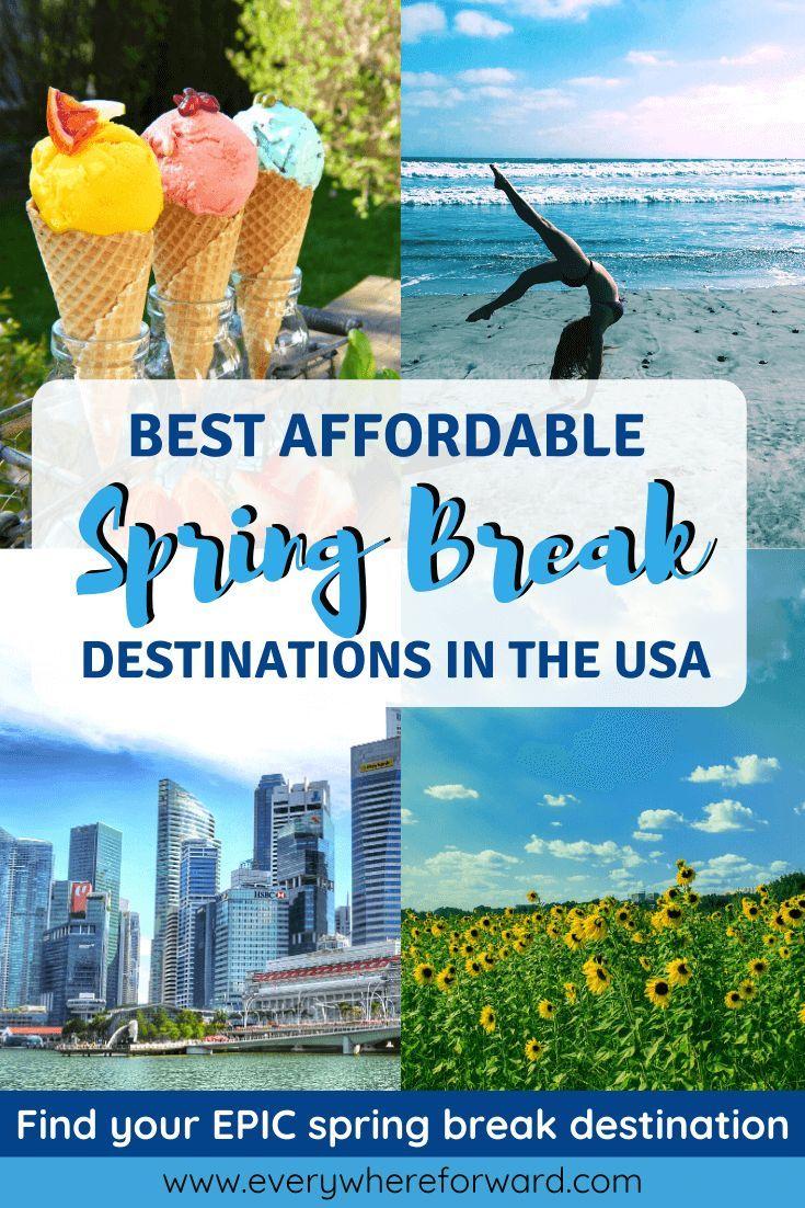Best Spring Break Destinations In The United States Best Spring Break Destinations Spring Break Destinations Families Spring Break Destinations