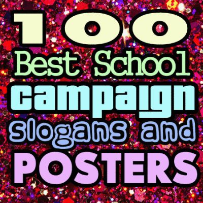 kids campaign slogans vote student council | just b.CAUSE