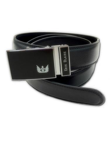 Nice sliding leather belt without holes!