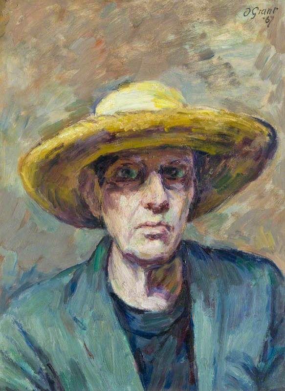 Duncan Grant // Self Portrait -