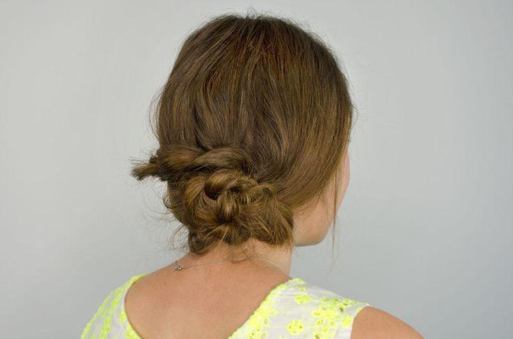 Braid-a-knot Bun hairstyle tutorial