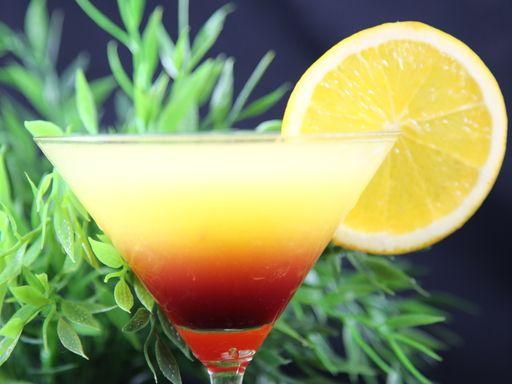 Cocktail Tequila sunrise : Recette de Cocktail Tequila sunrise - Marmiton