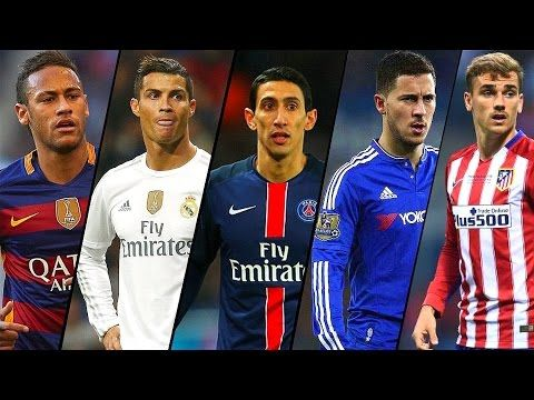Best Football Skills Mix 2017 ● Ronaldo ● Neymar ● Dybala ● Hazard and more  -  chadatube
