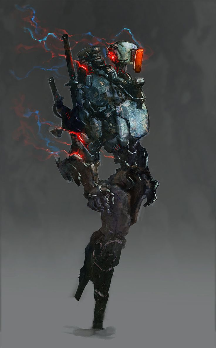 Denjin, Lightning Blade by cobaltplasma robot mech mecha armor fashion player character npc | Create your own roleplaying game material w/ RPG Bard: www.rpgbard.com | Writing inspiration for Dungeons and Dragons DND D&D Pathfinder PFRPG Warhammer 40k Star Wars Shadowrun Call of Cthulhu Lord of the Rings LoTR + d20 fantasy science fiction scifi horror design | Not our art: click artwork for source