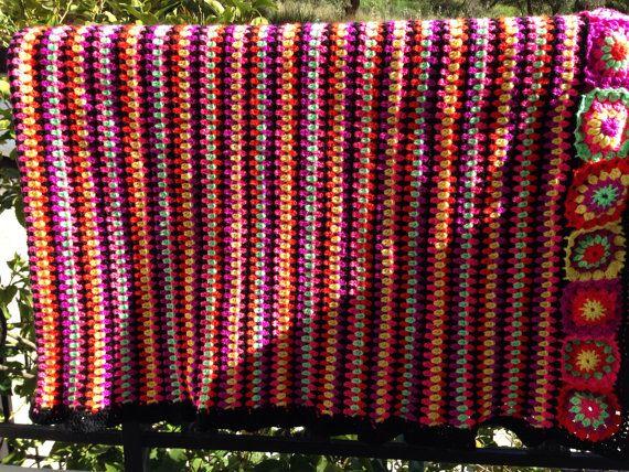 Crochet blanket on Etsy, 270,00€
