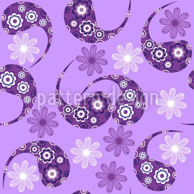 Paisley Meets Flower Repeating Pattern   #paisley #pattern, #folk, #etchnic, #asian, #Indian, #palm #branch, #Persian #cypress, #colorful, #Turkish #cucumber, #ornamental, #oriental, #buta, #vintage, #retro, #flower, #floral, #leaf, #pickles, #culture, #swirl #doodle #east #modern #etchnic