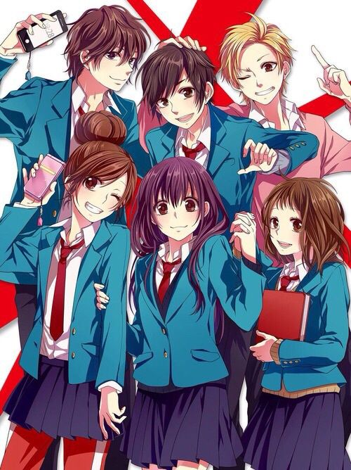anime, honeyworks, and friends image