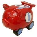 Racing car Piggy bank. http://www.helpmetosave.com/2012/02/piggy-bank/
