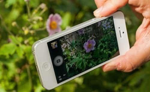 Prendre une photo avec bouton volume iphone