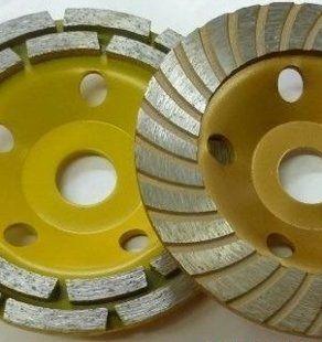 Алмазная чашка 180 мм двухрядная и турбо, посадка 22 мм