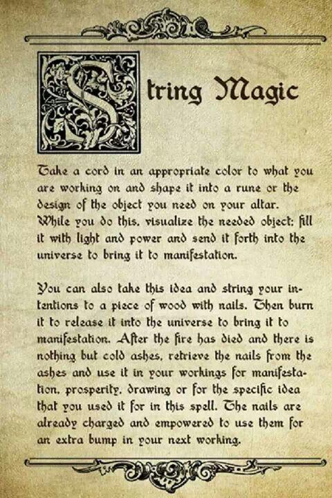 String Magick