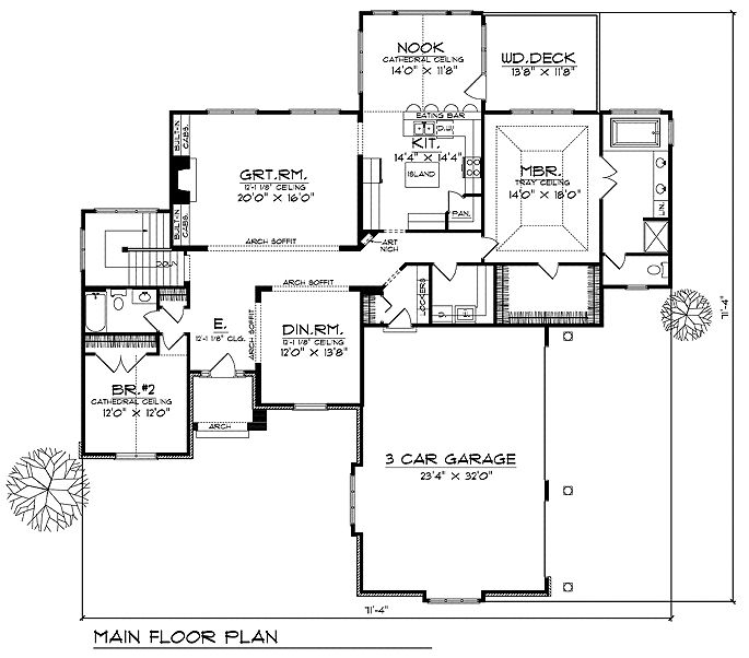 house floor plan for 94200ll walk out house plans house floor plans ideas pinterest. Black Bedroom Furniture Sets. Home Design Ideas