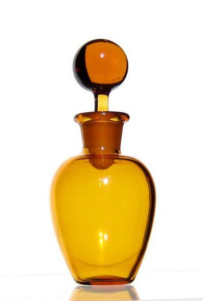 Amber Glass Bottle ~