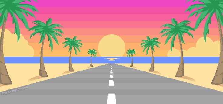 Sunset Drive   Pink Syrup