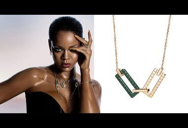 Rihanna and Kanye are both dropping jewellery lines
