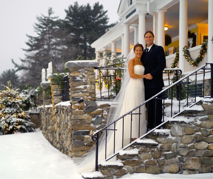 Winter Wedding At Mountain View Grand Resort In Whitefield NH