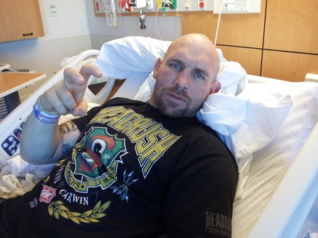 Shane Carwin Recovering from Surgery and Hopeful About Getting Back to the Top