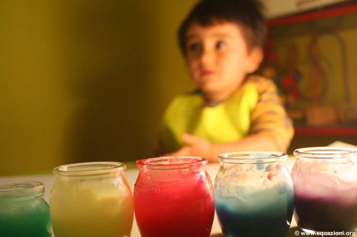 Ricetta colori a dita fatti in acsa con colorante alimentare normale