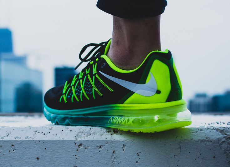 Nike Air Max 2015 Black White Volt Hyper Jade (6)