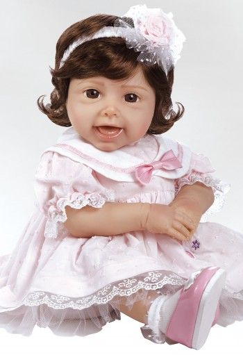 Tickled Pink, 20 inch Giggling Baby Doll