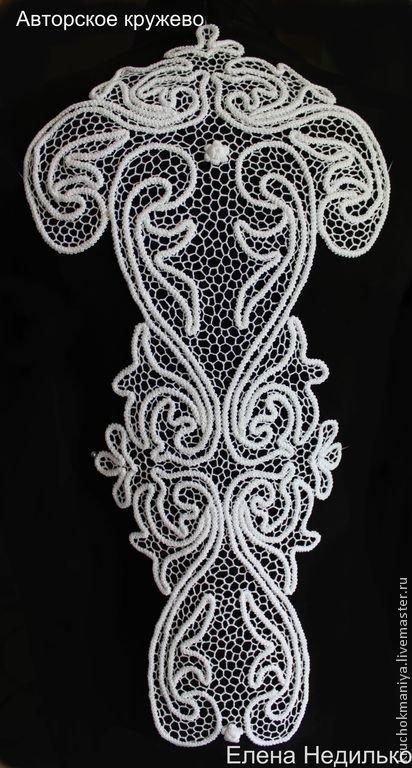 Блузки ручной работы. Ярмарка Мастеров - ручная работа Ирландское кружево-кружевные вставки. Handmade.