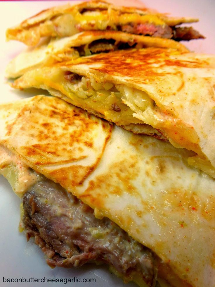 Copycat Taco Bell Steak Quesadillas...you'll be amazed at how these taste just like the real deal and that you know the exact ingredients in it!