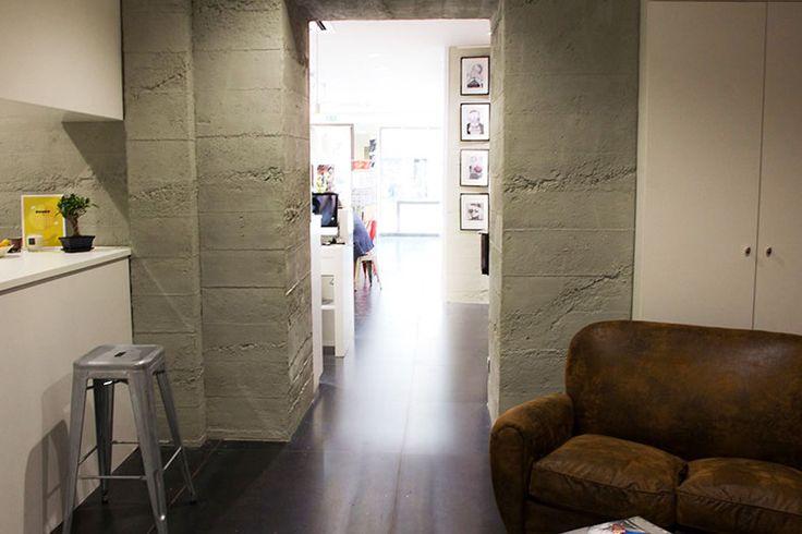 Küche mit Beton Design Paneel
