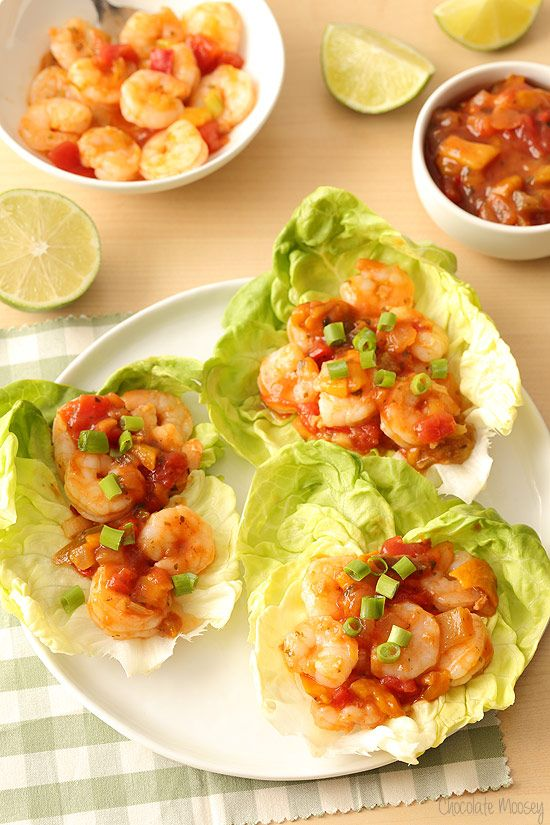 Looking for a healthy dinner that is ready in 15 minutes? These Salsa Shrimp Lettuce Wraps can be made so easily and quickly with @sabradippingco salsa that you won't have to wonder what's for dinner.