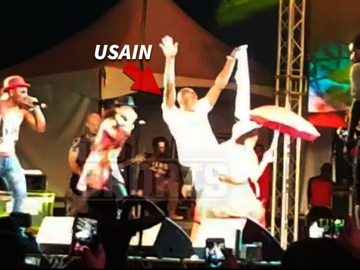 Usain Bolt's Welcome to Carnival Gift ... Take Our Women, Please! (VIDEO)