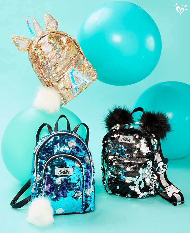 ecdc5d27b Critter + shimmer she'll carry with love. | Justice Bags & Luggage in 2019  | Fashion bags, Bags, Fashion