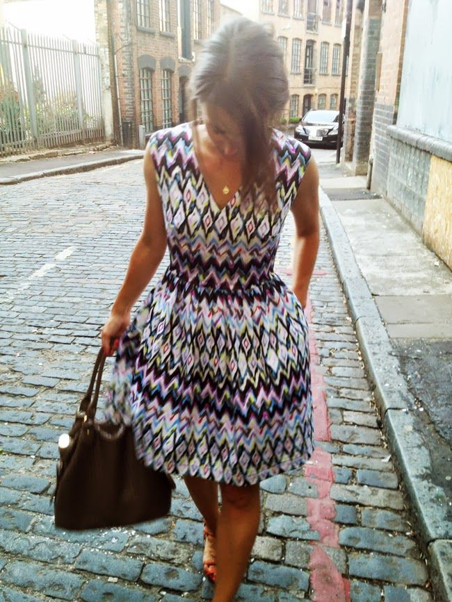 honigdesign: SUMMER and the City free dress pattern                                                                                                                                                                                 More