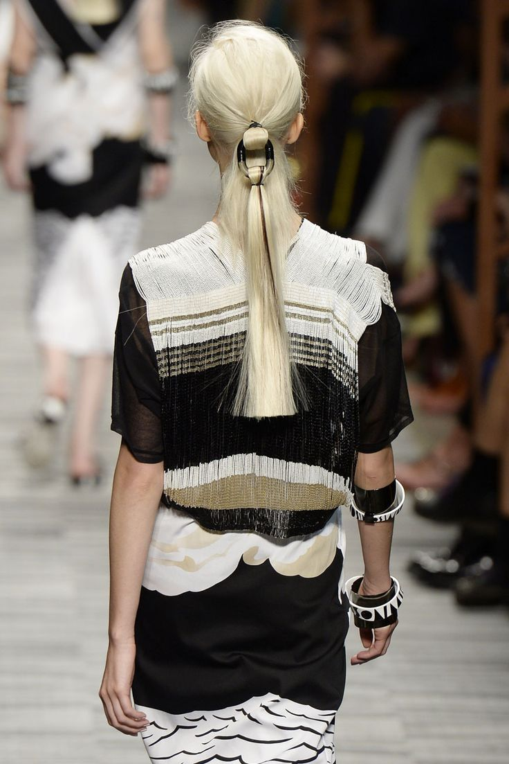 Ornate Ponytails