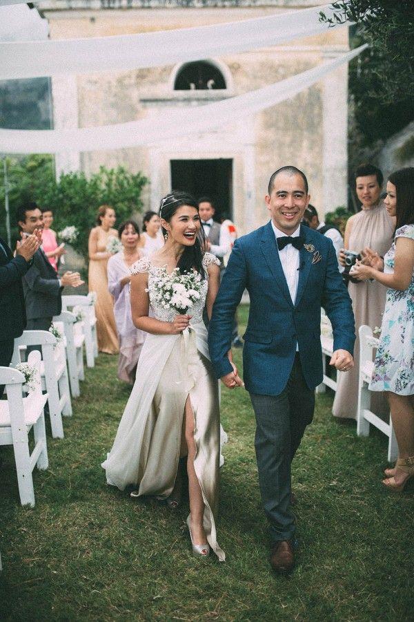 Glamorous Outdoor Italian Wedding
