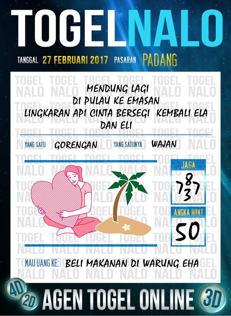 Lotre Taysen 4D Togel Wap Online Live Draw 4D TogelNalo Padang 27 Februari 2017