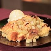 Carla Hall's Honey Apple Bread Pudding