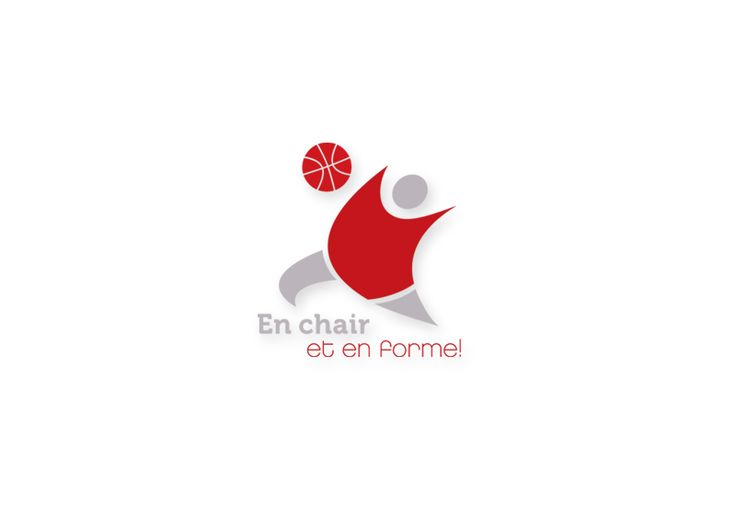 Conception d'un logo / Client -  En chair et en forme!