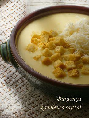 Hankka: Burgonya krémleves sajttal