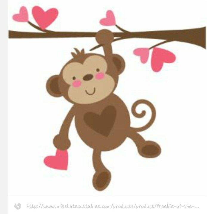 Monkey | cute critters | Pinterest | Monkey, Cricut and Papercraft
