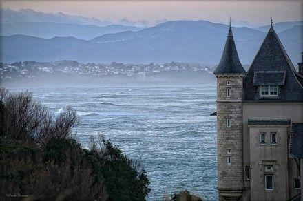 depuis Biarritz