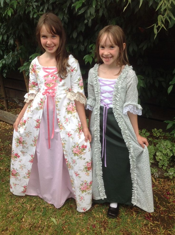 Let's Make Colonial Costumes for Girls!