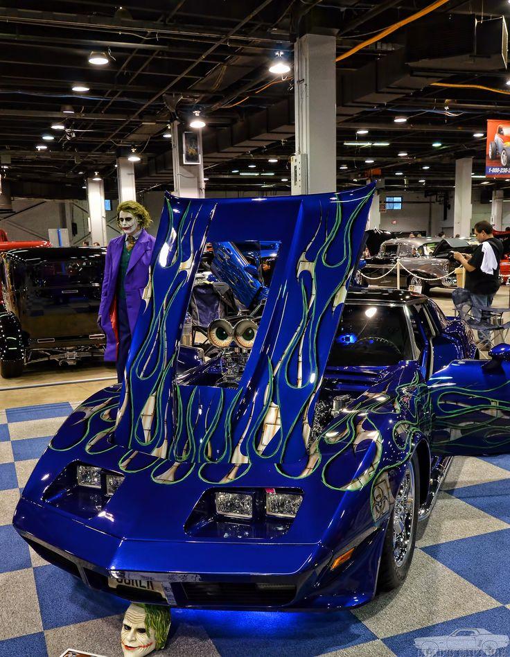 """Joker"" Blown Pro Street 1974 Corvette"
