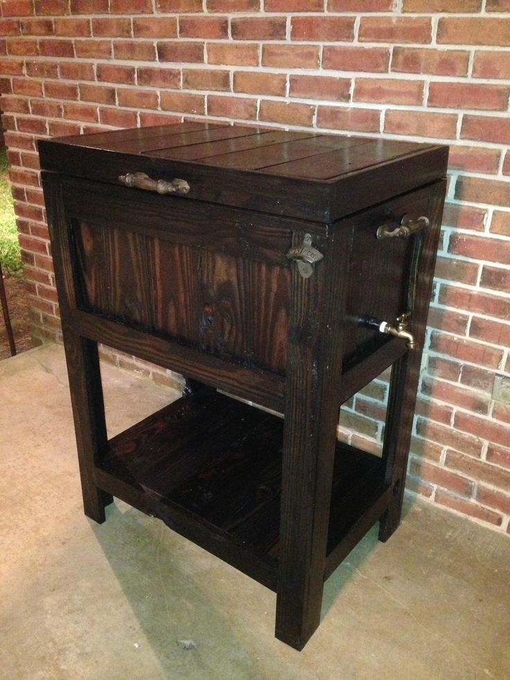 Patio Rolling Cooler Cart: 1000+ Images About Deck Cooler On Pinterest