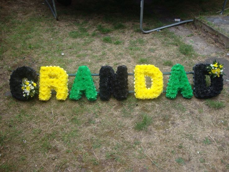 1000+ images about Funeral Floral Letters on Pinterest ...