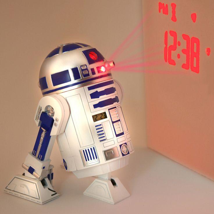 R2-D2 Projection Clock http://stuffyoushouldhave.com/r2-d2-projection-clock/