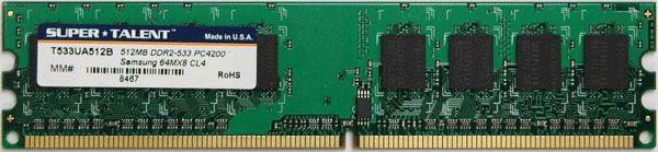 Super Talent DDR2-533 512MB