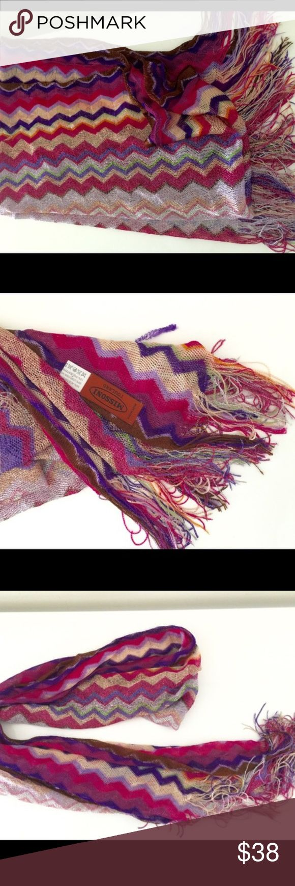 Missoni scarf Greet Missoni Accessories Scarves & Wraps