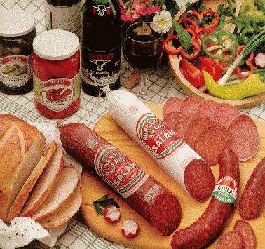 Otto's Import Store & Deli - Catalog Hungarian salamis