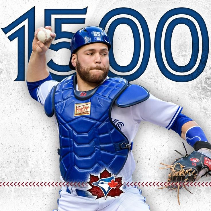 Special congrats on #CanadaBaseballDay to Russell Martin, who is now just the 5th Canadian to have played in 1,500 MLB games! July 30, 2017