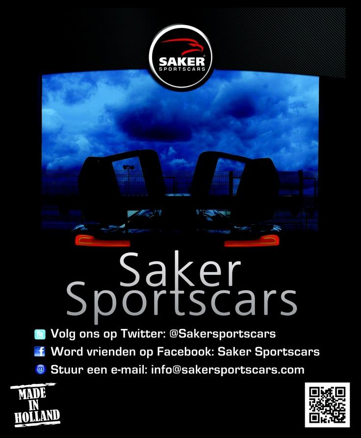 Poster voor Saker Sportscars http://sakersportscars.com/?page_id=455=en